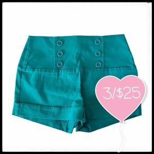 ⭐3/$25⭐ Eclipse NWT High Waist Stretchy Shorts